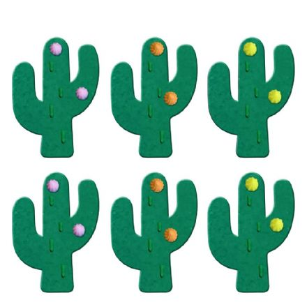 Cactus Sugar Decorations